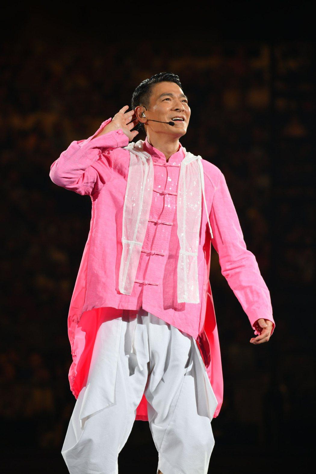 劉德華暌違14年,昨晚重踏吉隆坡開唱。圖/台灣映藝提供
