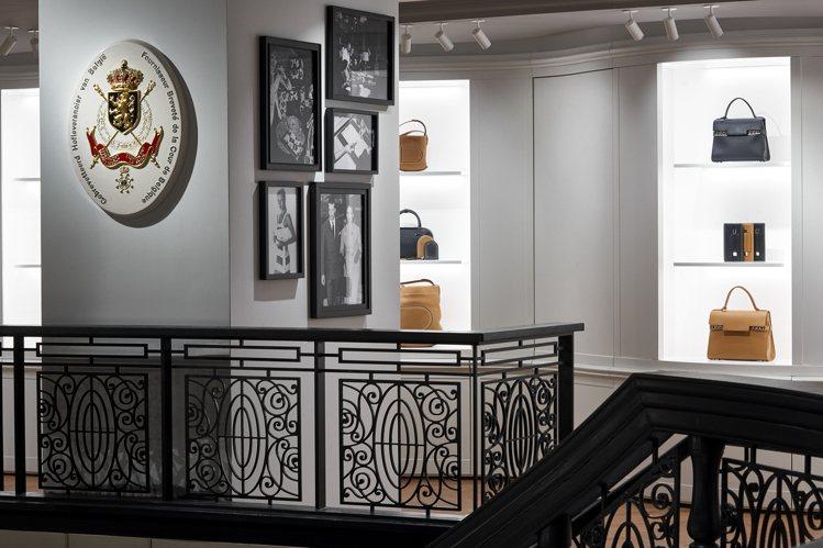 DELVAUX在紐約開設美國首家旗艦店。圖/DELVAUX提供