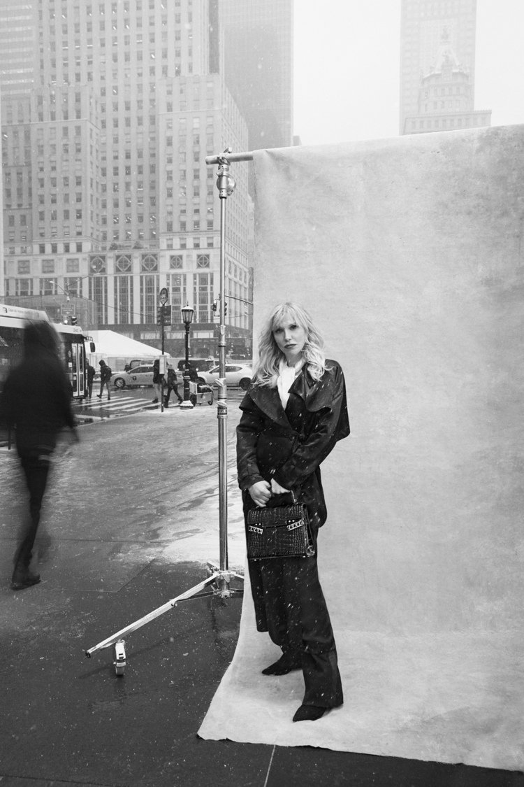 演員兼音樂家Courtney Love演出DELVAUX「紐約故事」微短片。圖/...