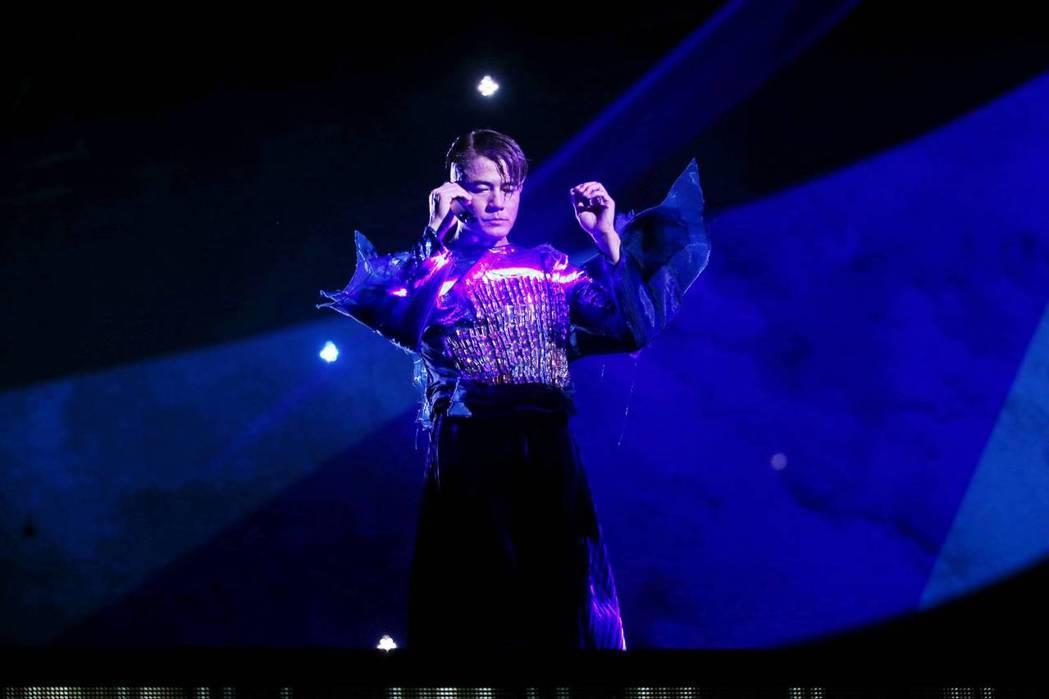 郭富城稱他的音樂是從台灣開始,回台開唱是使命。記者曾原信/攝影