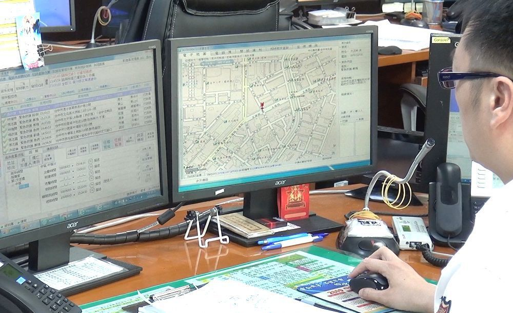 台中市消防局為聽語障人士設置的簡訊報案專線,已建置有10年時間,不過迄今尚未接獲...