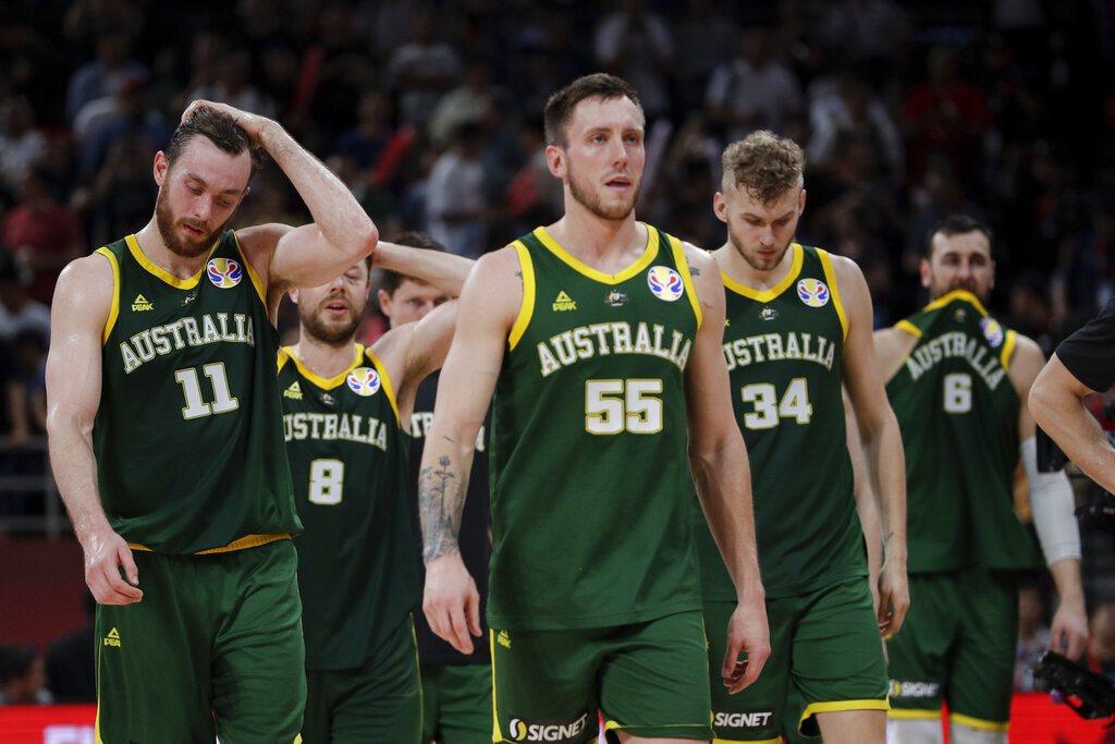 無緣獎牌的澳洲,球員難掩失望。 美聯社