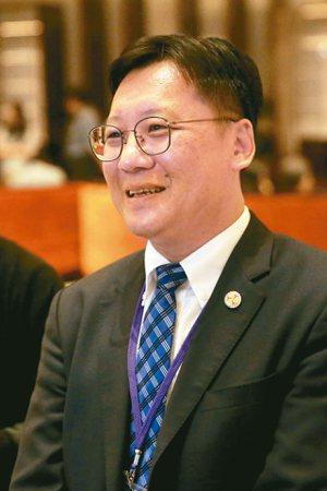 台企聯總會長李政宏。 記者林伯東/攝影