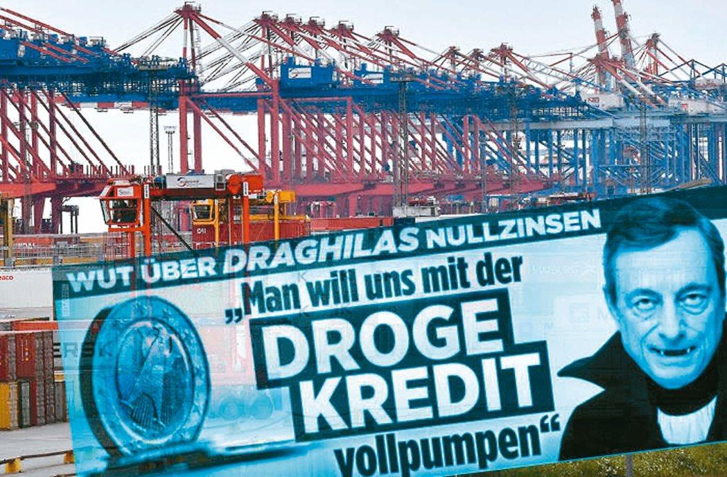 有家德國小報指控德拉基是吸血鬼,「吸乾我們的帳戶」。 網路照片