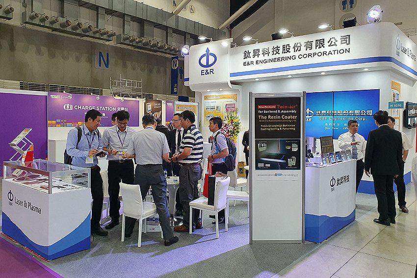 鈦昇科技在南港展覽館一館N1076攤位展出,有更多雷射技術及電漿應用在半導體領域...