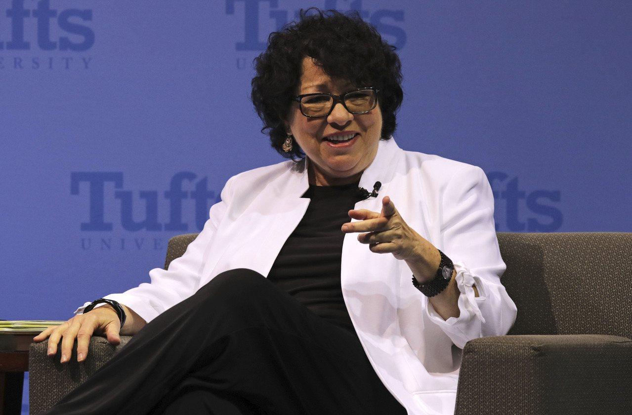 圖為被列入2019年美國婦女名人堂傑出女性名單的索托瑪約(Sonia Sotom...