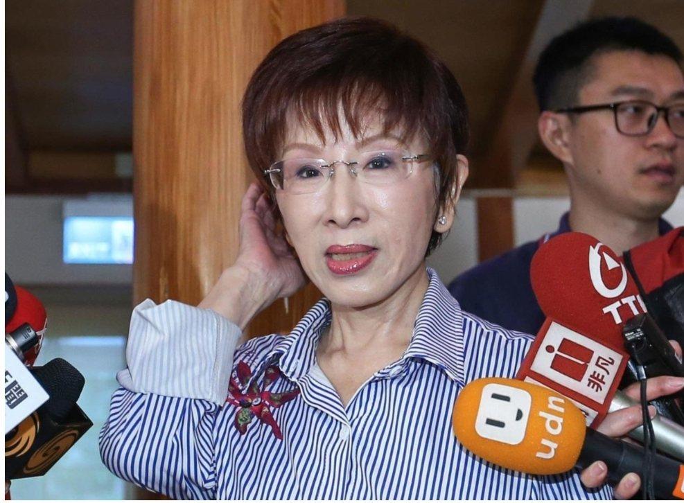 國民黨前主席洪秀柱。圖/聯合報資料照片