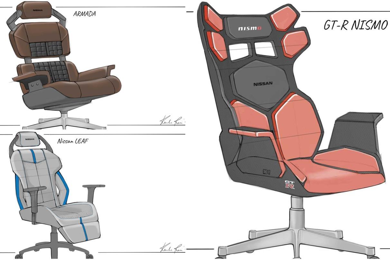 如果Nissan真的做出這幾張電競椅 大家會買單嗎?