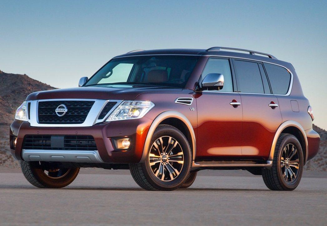 Nissan Armada。 摘自Nissan