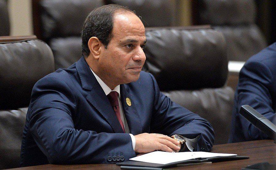 埃及總統塞西上任以來,軍隊貪腐的情況可能越來越嚴重。(Photo by 克里姆林...