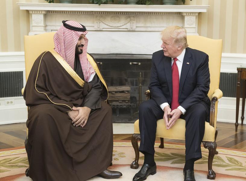 沙烏地阿拉伯石油產業心臟遭到攻擊,美國也將願意與其合作確保其安全。(photo ...