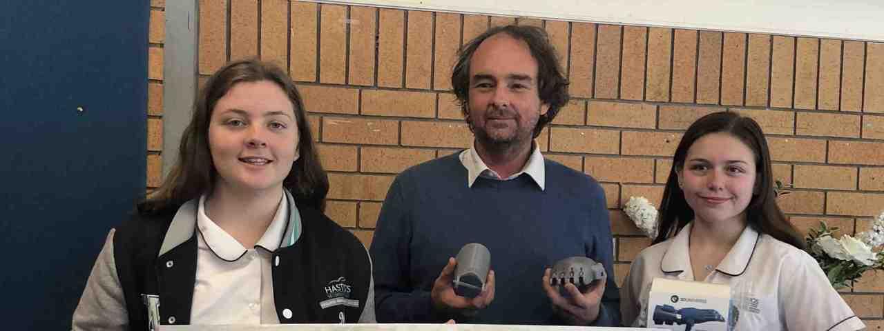 澳洲黑斯廷斯中學將利用回收塑膠製作義肢。圖取自Hastings Secondar...