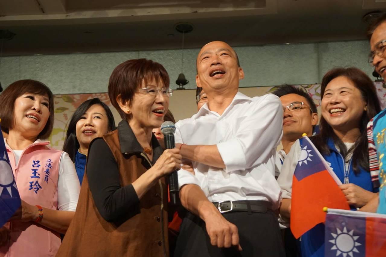 國民黨砲轟郭台銘 洪秀柱不以為然:我們自己要反省