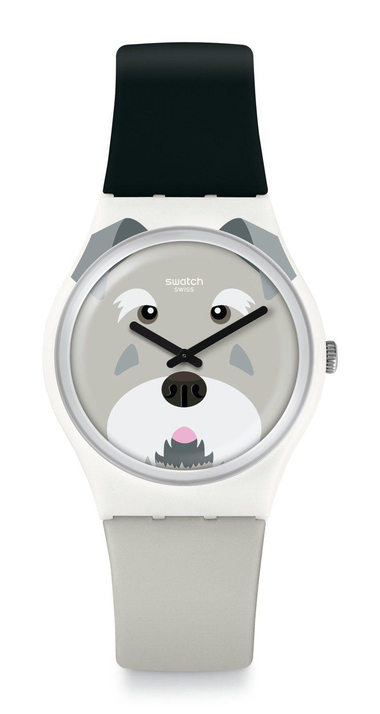 SWATCH活潑雪納瑞SCHNAUTZI腕表,2,050元。圖/SWATCH提供