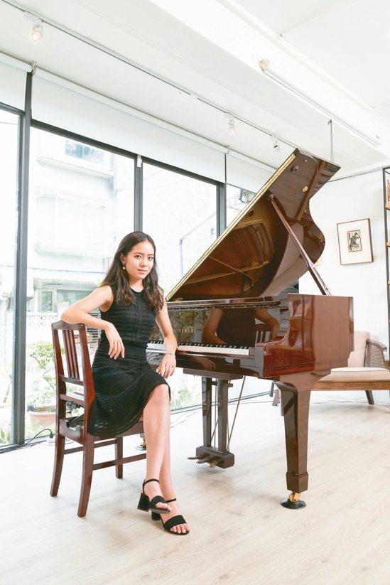 李其叡如今已是能獨挑大樑的鋼琴家。 攝影/陳立凱