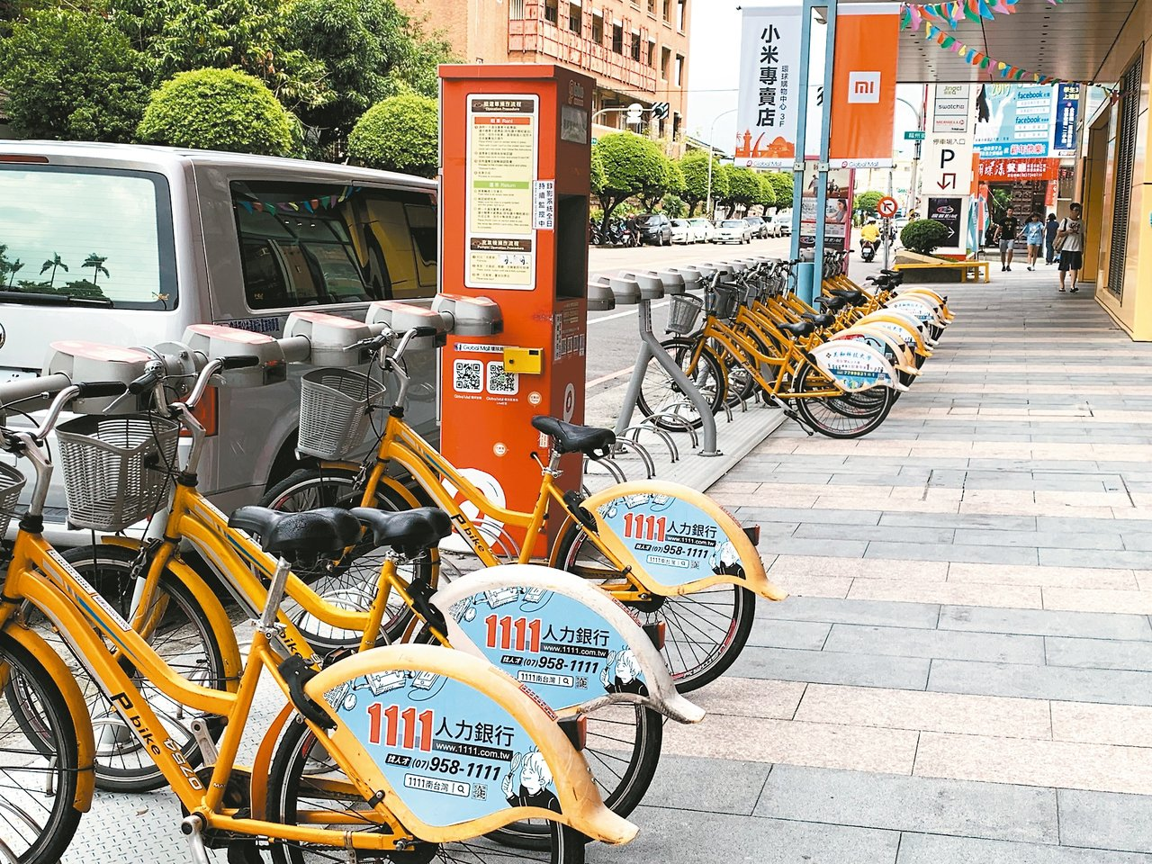 屏東P-bike推出迄今已有200多萬人次騎乘,最近傳出有人未使用票卡租借,硬扯...