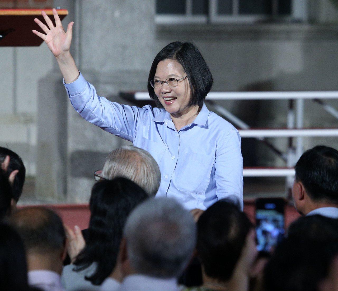 蔡英文總統。 聯合報系資料照/記者劉學聖攝影