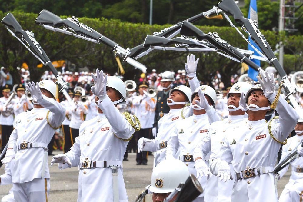 海軍儀隊。圖/聯合報系資料照片