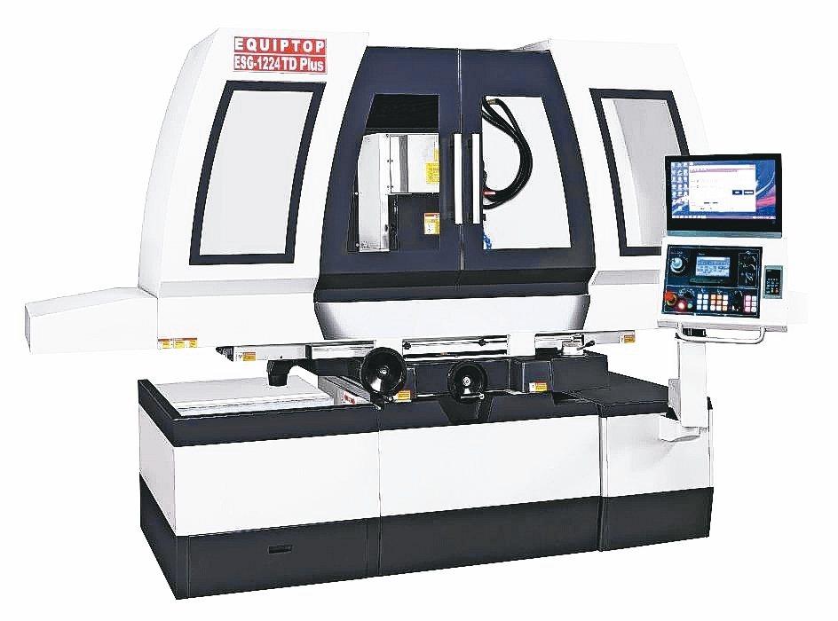 眾程科技ESG-1224TD-Plus智慧平面磨床。 眾程科技/提供