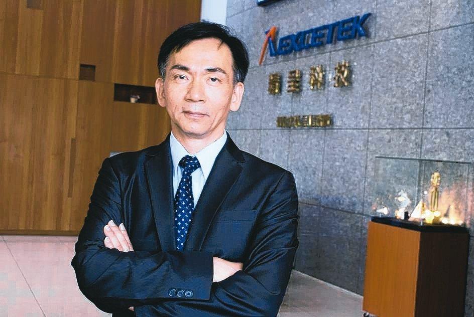 精呈科技董事長張瑞成。 吳青常/攝影