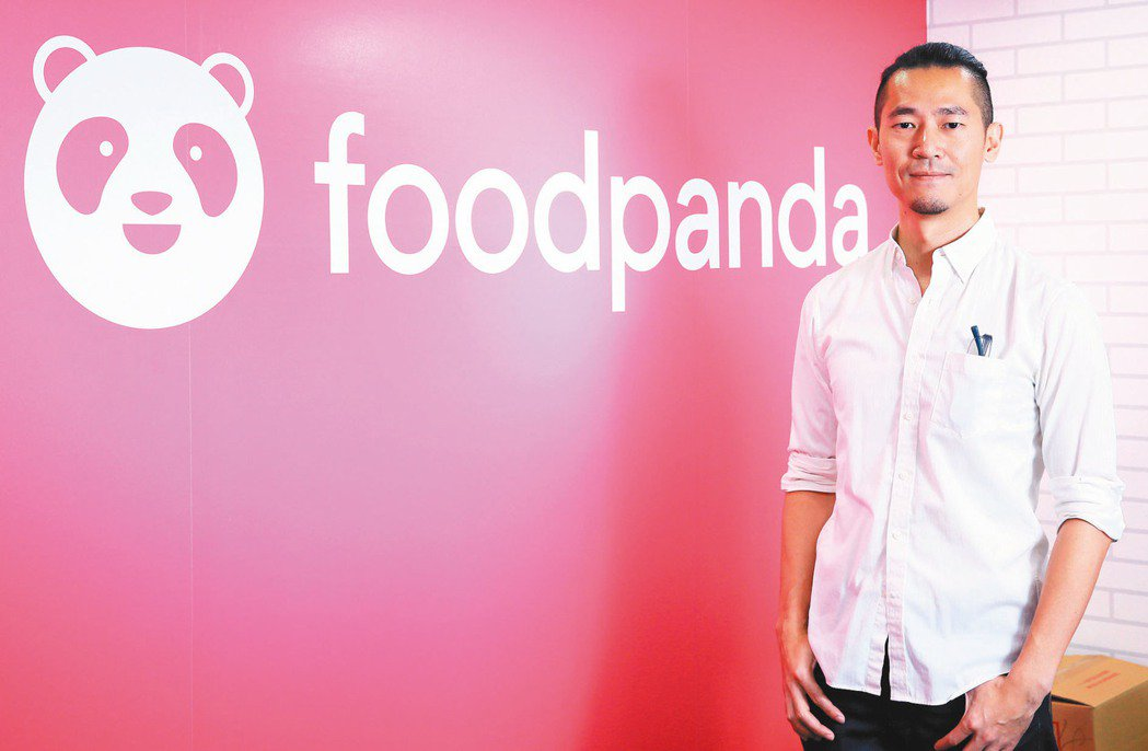 foodpanda台灣董事總經理方俊強。 記者潘俊宏/攝影