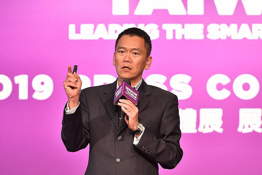 台灣微軟大型企業商業事業群總經理卞志祥。 SEMI/提供
