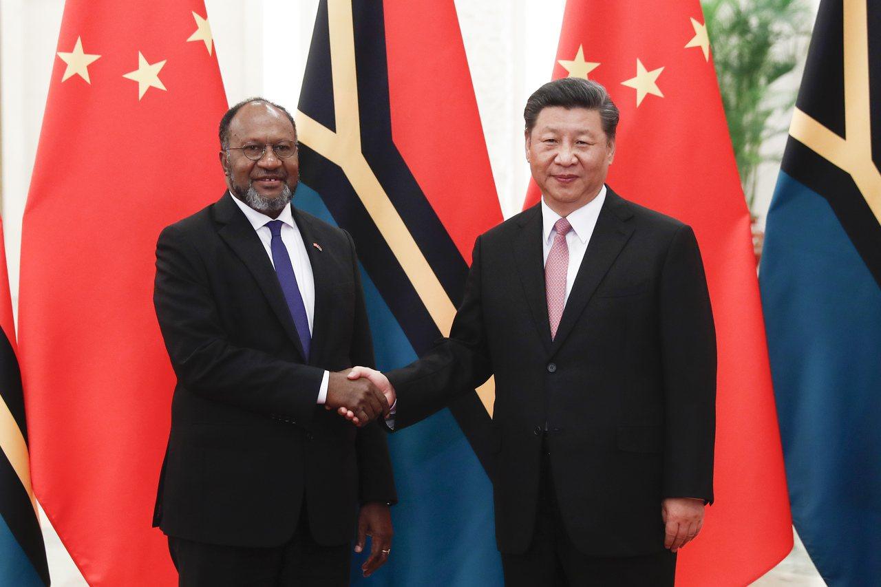 中國大陸透過投資基礎建設,積極在南太平洋擴展影響力,與澳洲搶地盤,爭取索羅門只是...