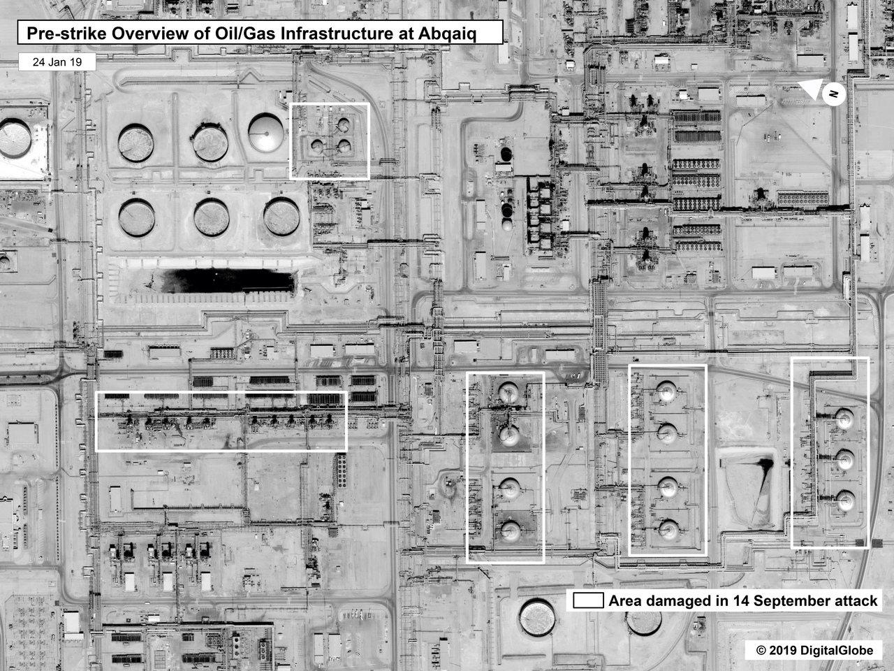 沙國石油公司Aramco遭攻擊,凸顯該公司與沙國政治密不可分。 美聯社