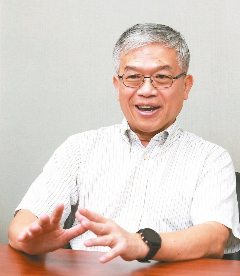 貿聯董事長梁華哲。 圖/聯合報系資料照片