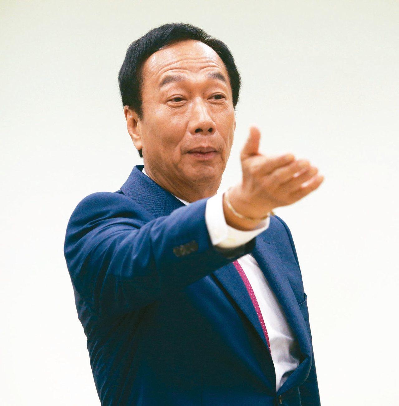 鴻海創辦人郭台銘。 圖/聯合報系資料照片