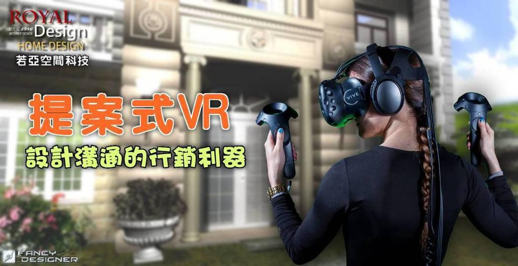 提案式VR,設計溝通的行銷利器。 若亞空間科技/提供