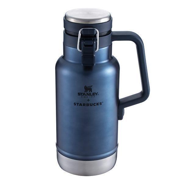 STANLEYNB不鏽鋼外帶瓶 $1,800。圖/星巴克提供
