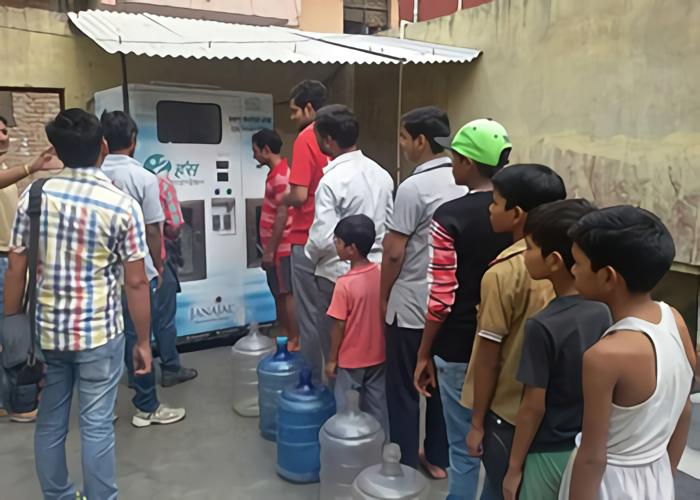 JanaJal攜手當地政府,透過創新技術改善印度各地水資源品質。 圖/JanaJ...