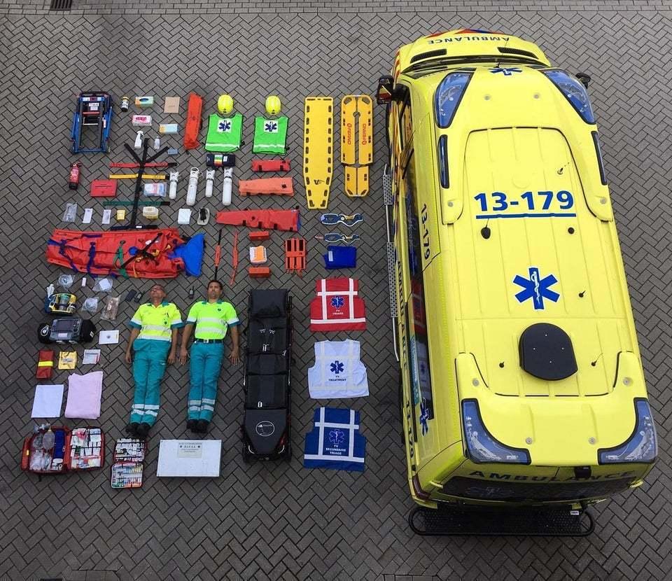 阿姆斯特丹的救護車。 圖片來源/reddit