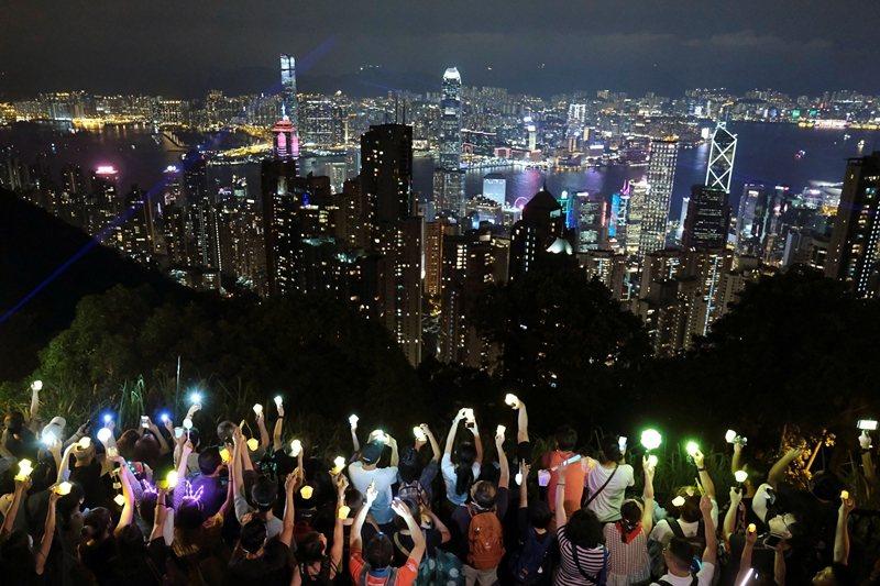 攝於9月13日,香港。 圖/路透社