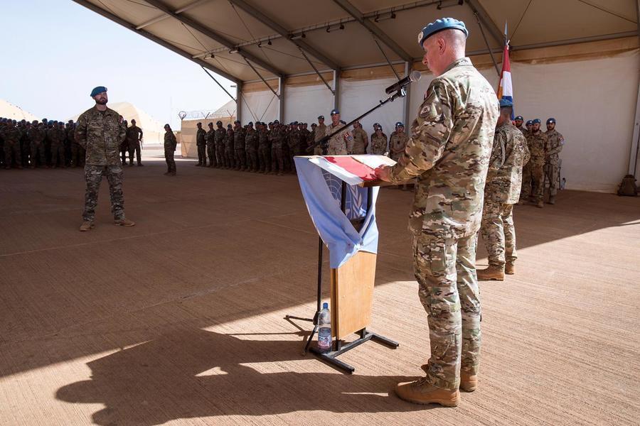 西非恐怖主義崛起。圖為聯合國馬利多層面綜合穩定特派團。(photo by Wik...