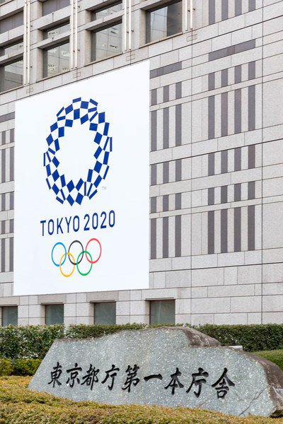 東京奧運面臨地方反彈。圖為東京奧運主視覺。(photo by Flickr)