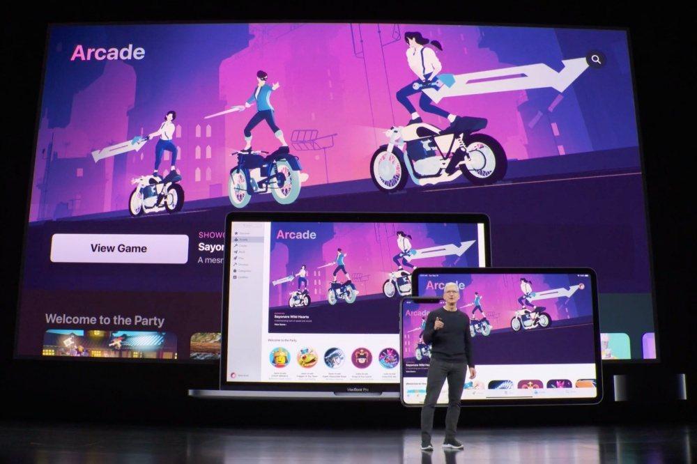 蘋果此次在秋季發表會僅以簡單重點說明包含Apple Arcade在內訂閱服務,重...