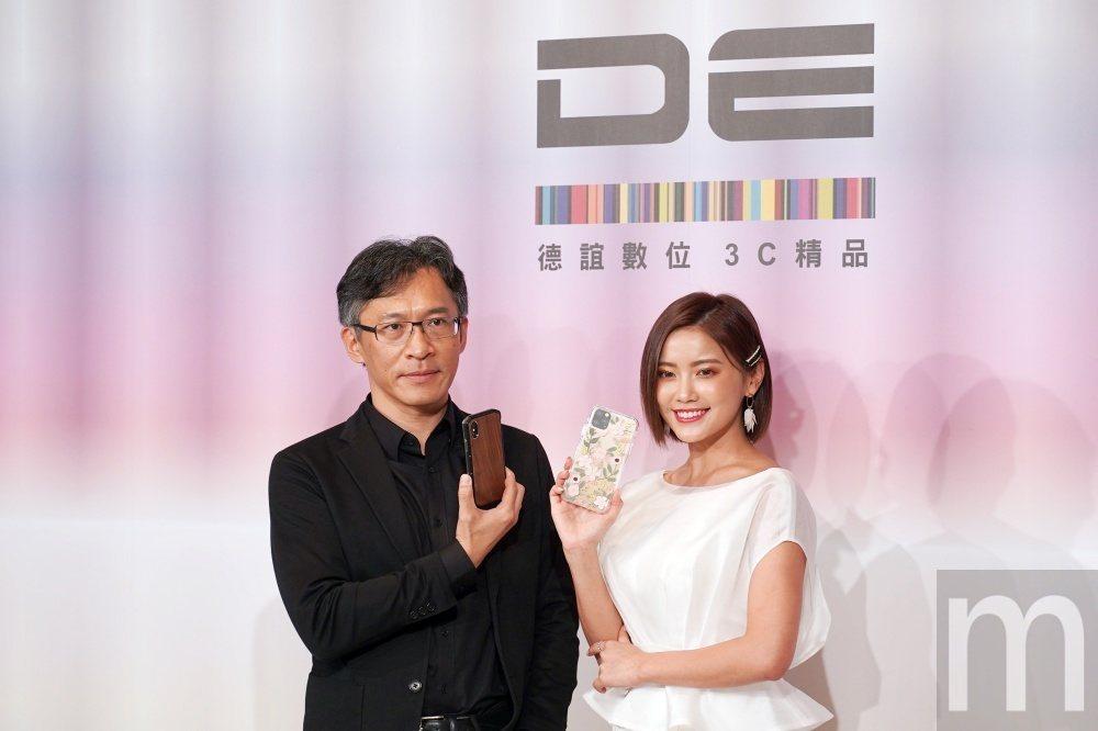 德誼數位總經理趙憶南 (左)