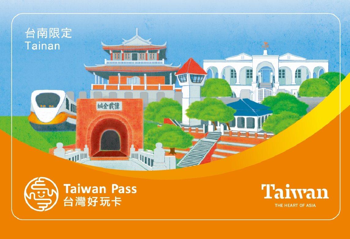「高鐵+台南好玩卡」交通聯票搭配在地景點特色之好玩卡。圖/台灣高鐵公司提供