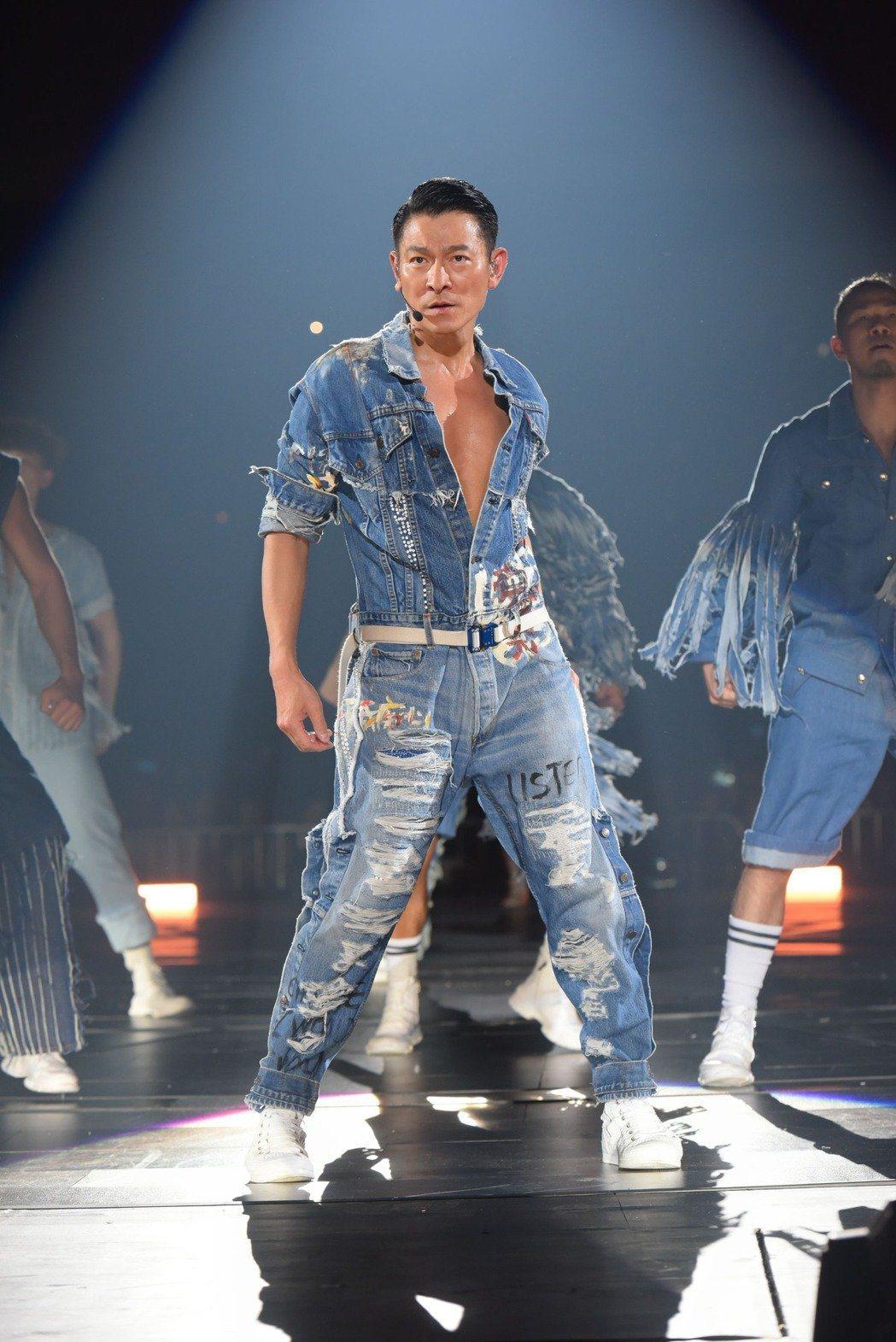 相隔14年,劉德華上周末於吉隆坡開唱。圖/台灣映藝提供
