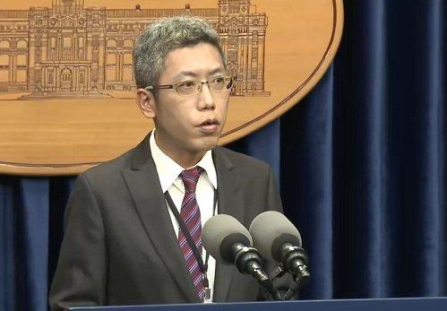 總統府發言人丁允恭。本報資料照片