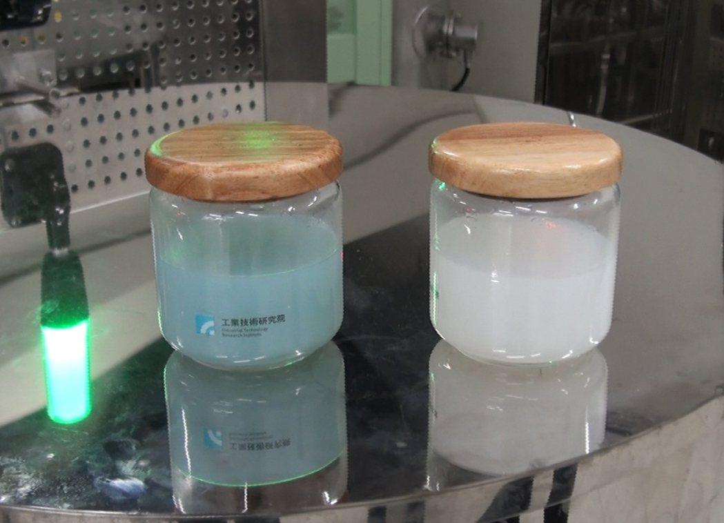 群創首創全球第一個廢液晶回收。圖/群創提供