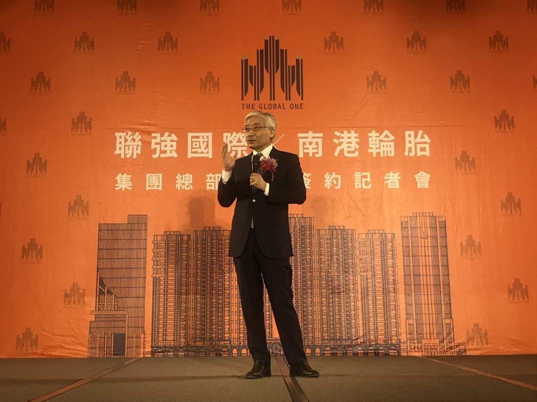 聯強國際總裁杜書伍。記者游智文/攝影