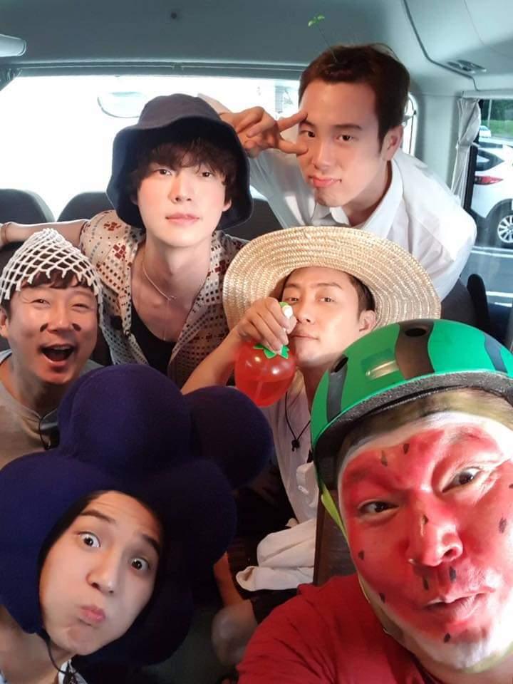 安宰賢原本是節目班底。圖/摘自tvN臉書