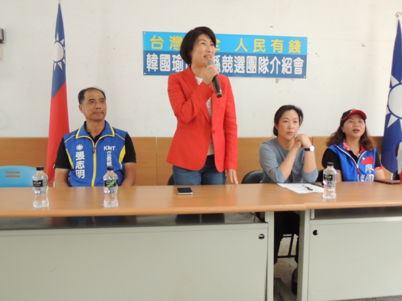 台東縣長饒慶鈴確定出任韓國瑜台東縣競選總部主委。記者羅紹平/攝影