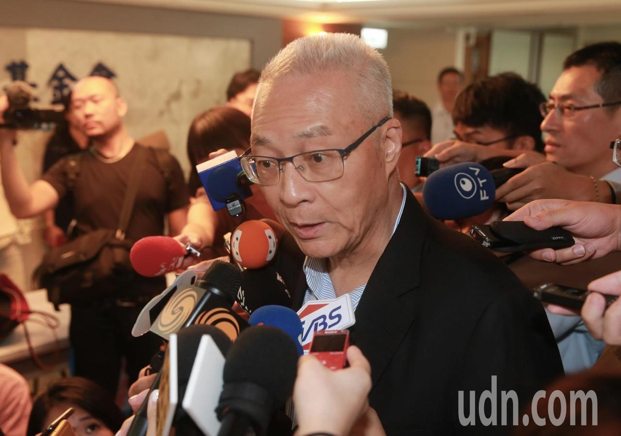 國民黨黨主席吳敦義表示會盡最大的努力,去運用各種方法去接觸,確認郭台銘能夠回頭。...