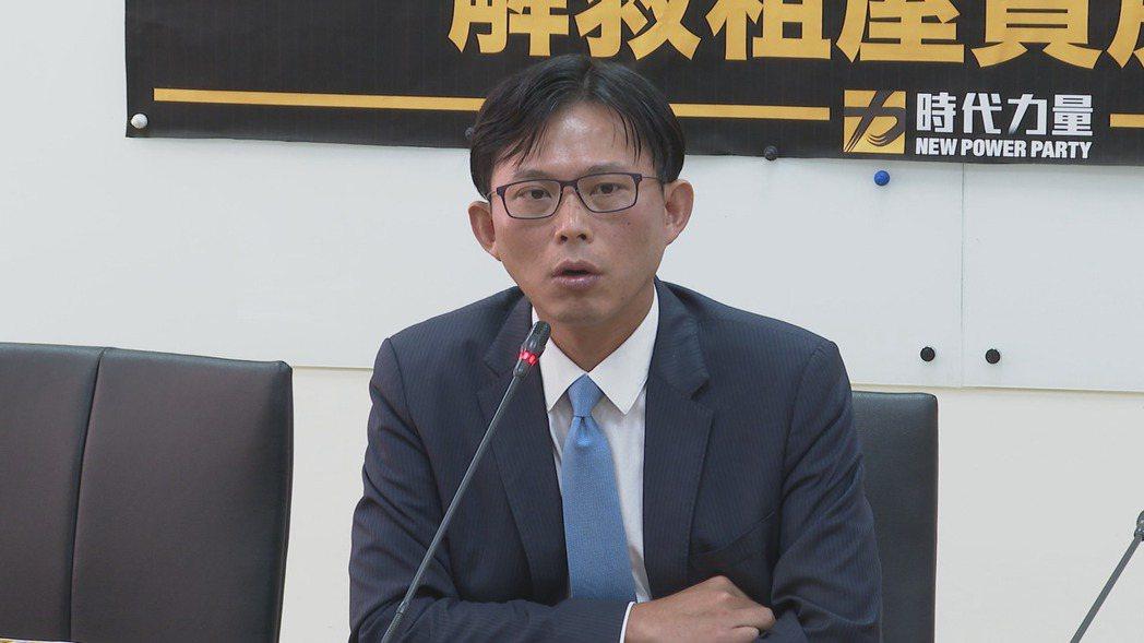黃國昌。 報系資料照