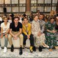 倫敦時裝周/貝克漢家族全員出動 現身Victoria Beckham 2020春夏大秀