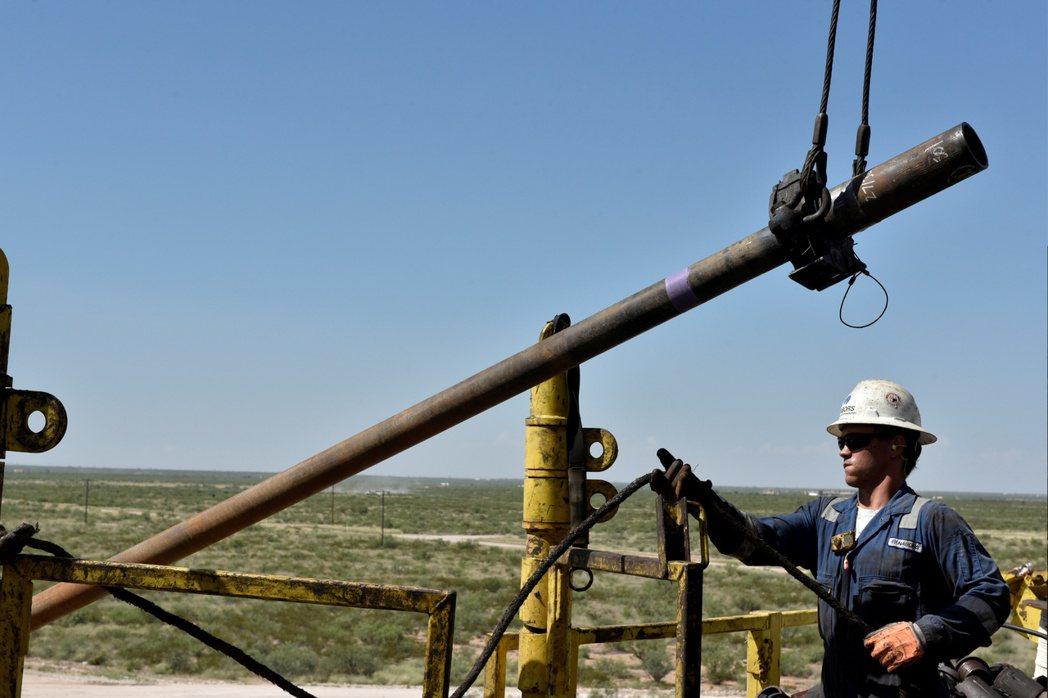 美國二疊紀盆地油井。(圖/路透)